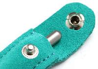 アキュモード鍼灸院の刺さない鍼、ていしん・テイシン・鍉鍼皮革ケース(青緑)