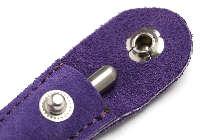 アキュモード鍼灸院の刺さない鍼、ていしん・テイシン・鍉鍼皮革ケース(紫)